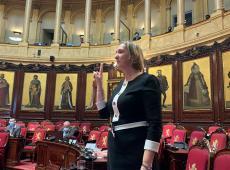 Eedaflegging Cathy Coudyser als senator